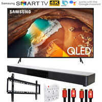 "Samsung 65"" Q60 QLED Smart 4K UHD TV 2019 Model with Soundbar Bundle"