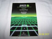 ZENITH Data Systems Groupe Bull Copa Final nottinghamforest v Southampton 29/3/92