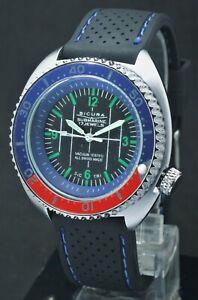 Sicura Diver Beautiful 17 Jewels Hand-Winding Style Men's (Rotating Bezel) Watch