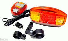 LED BRAKE TURN SIGNAL LIGHT with wiring BICYCLE CYCLE  MOBILITY SCOOTER BIKE