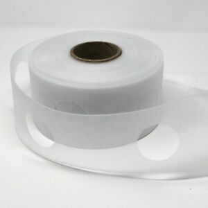 """Translucent Eyelet Tape for voiles or curtains - 3"""" deep - 5 metres"""