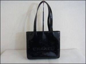 Auth XQ04 CHANEL handbag outside deterioration gold metal fittings from Japan