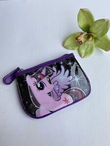 Twilight Sparkle Coin Purse Wallet Shiny Purple My Little Pony NWOT
