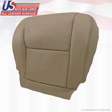 2006 Toyota Tundra Front Driver Side Bottom Replacement Seat Cover Vinyl Tan