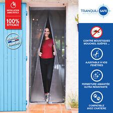 Moustiquaire ajustable aimantée TRANQUILISAFE® porte-fenêtre 80/96-207/215