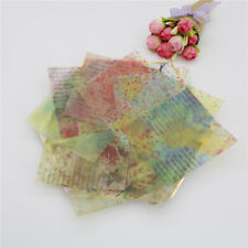 12pcs lovely background vellum paper stickers for scrapbooking card making BBUS