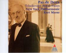 CDMASUR - NEW YORK PHIL. Tchaikovsky - famous waltzesTELDEC EX+  (R2577)
