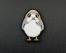 Porg Chenille Morale Patch Last Jedi Star Wars Episode 8