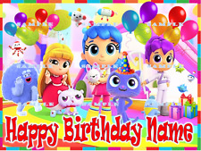 TRUE AND THE RAINBOW KINGDOM: Personalized edible cake toppers  FREE SHIP Canada