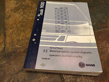 1989 90 Saab 9000 Electrical System Wiring Diagrams Fault-Tracing Service Manual