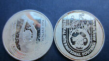 Medals Silver Football Fifa World Cup 1978 in Argentina Pf Open (1053)
