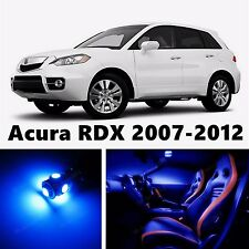 13pcs LED  Blue Light Interior Package Kit for Acura RDX 2007-2012