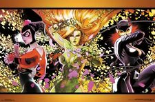 DC COMICS - DANGEROUS LADIES POSTER 22x34 - BATMAN HARLEY QUINN 15413