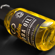 Organic Golden Jojoba Oil by SIBJ™ For Stretched Lobes & Piercings 30ml / 1oz