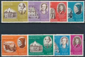 [P5645] Paraguay 1966 good set of stamps very fine MNH