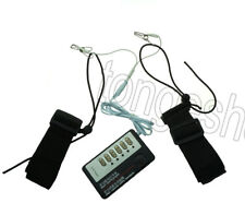 Electro Shock Electrical Stimulation Male Thigh Cuffs E-stim Therapy Set Kit