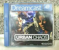 Retro Urban Chaos Sega Dreamcast - CIB - Working - Great - PAL - Complete