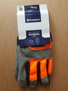 596309210 OEM Husqvarna protective garden forest gloves TECHNICAL light  SIZE 10
