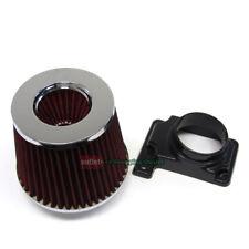 MAF Mass Air Sensor Adapter+Red Filter for Eagle 95-99 Talon 2.0L TSI Turbo