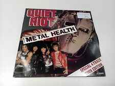 "Quiet Riot Metal Health Loves A Bitch 2 x 7"" EX Vinyl Record A 3968 Gatefold P/S"