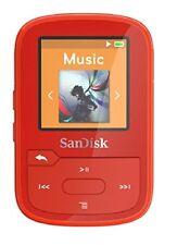 Sandisk Clip Sport Plus 16gb Red Sdmx28-016g-g46r