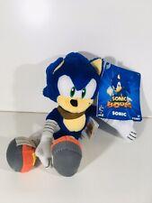 """Sonic The Hedgehog Boom - 8"""" Tomy Sega Plush Soft Toy - Video Game - NWT Tagged"""