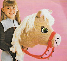 Hobby horse toy knitting pattern Christmas present idea DK 605