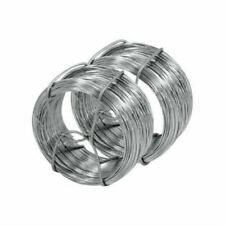 2x Galvanised Garden Wire 40M LONG ROLL Plant Support Vine Tying Cord 80m UK
