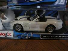 Shelby White Series 1 MAISTO SPECIAL EDITION Diecast 1:18 Scale