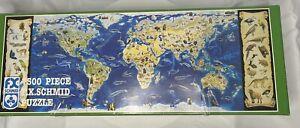 FX Schmid 7500 Piece Super Puzzle Endangered Species World COMPLETE Organized