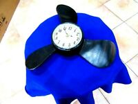 Vintage Propeller Quartz HD-1688 Sheng Bang Wall Clock !Works!