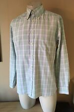 MENS GANT Regular Fit Egyptian Cotton Shirt Size Medium (pit To Pit 23 inches)