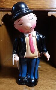"""1940's Vintage OCCUPIED JAPAN """"Jolly"""" (unlicensed Wimpy) Celluloid Windup toy"""