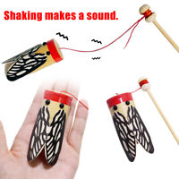 KQ_ JW_ Wooden Rod Shaking Cicada Sound Transmission Experiment Education Kids T