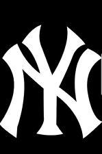 "New York Yankees Vinyl Decal / Sticker 10"" Decal"