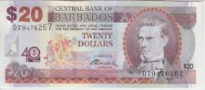 BARBADOS P, 72 20 DOLLARS COMMEMORATIVE 40 YEARS CENTRAL BANK OF BARBADOS, UNC