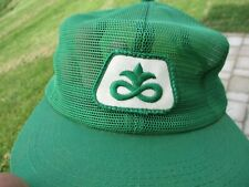 Vintage Pioneer Seed Patch Snap Back Mesh Hat K-Products