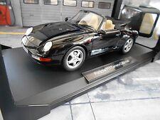 PORSCHE 911 993 Cabrio Cabriolet 1994 black schwarz 187595 Norev 1:18