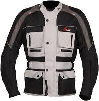Weise Zurich Mens Stone Textile Waterproof Motorcycle Jacket New