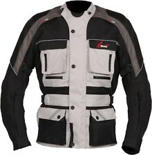 Weise Zurich Mens Stone Textile Waterproof Motorcycle Jacket New RRP £129.99!!