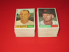 1961 Topps Baseball PICK 5 HIGH GRADE NM cards complete set Near Mint lot choose