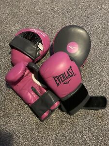 Everlast Striking Training Gloves All Sizes Mitt Work Heavy Bag R841