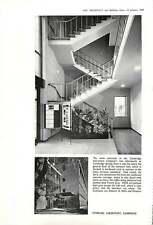 1960 Main Staircase Cambridge Instruments Company New Laboratories Edward Mills