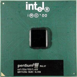 INTEL PENTIUM III CPU 667Mhz./256/133/1.65V. SL3XW.