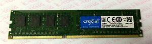 Crucial 4GB x1 DDR3L-1600 CT51264BD160B.C16FPD2 1.35v Desktop DIMM 240pin Ram
