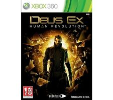 Deus Ex: Human Revolution - Limited Edition - XBOX 360 GAME With Manual (E940)