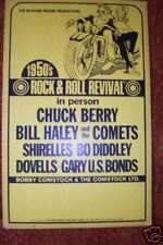 "1950's ROCK and ROLL REVIVAL 14 x 22""  Poster Heavier"