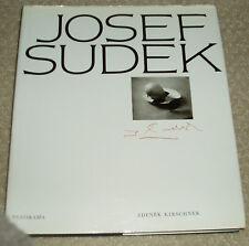 JOSEF SUDEK Panorama PHOTOGRAPHY Kirschner, Zdenek 1986 Ed. Very Fine