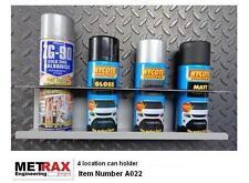 4 Spray Can Aerosol Holder Storage Racking shed garage / Motorsport Racing BMX