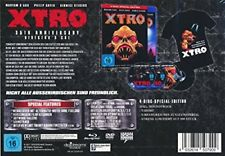 4 Disc X-TRO BOX Special Limited Edition+ T-SHIRT BLU-RAY DVD CD Soundtrack XTRO